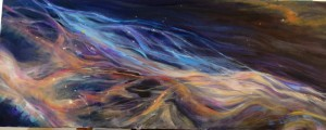 1024x412 in.  Oil on Canvas