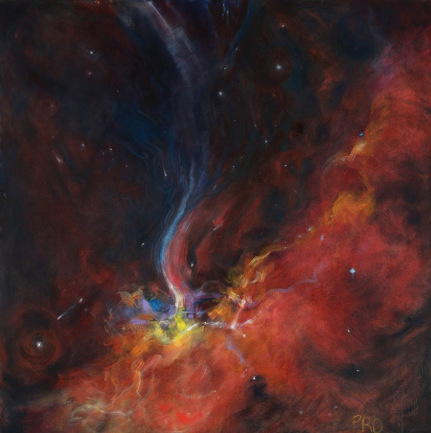 Creation Cosmos Series 36 x 36 inches