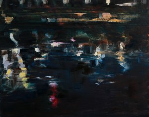 Midnight on the Danube #1 Oil on Canvas 30 x 40 in.